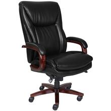 Edmonton Big & Tall Executive Office Chair, Black