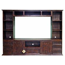 "60"" Small Flat Screen Wall Unit"