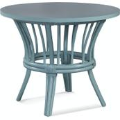 """Meridien Round 36"""" Dining Table with Wood Top"""