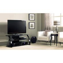 "48"" TV Stand for TVs up to 46"", Black"