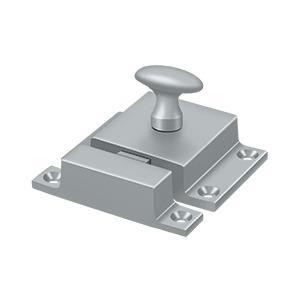 """Deltana - Cabinet Lock, 1-5/8"""" x 2-1/4"""" - Brushed Chrome"""