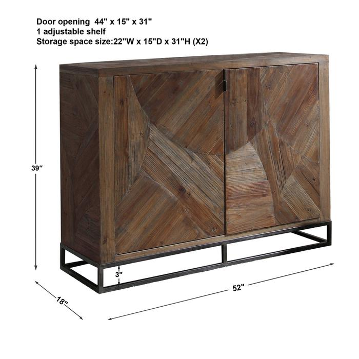 Uttermost - Evros 2 Door Cabinet