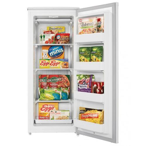Danby - Danby Designer 10.1 cu. ft. Upright Freezer