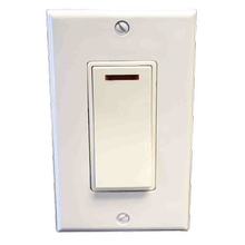 Pilot Light Switch - White