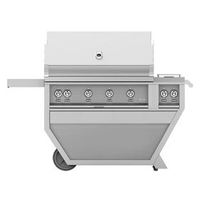 "42""grill, (3)trellis, (1)sear, Rotis, DLX.CART W/dbl Side Burner-ng"