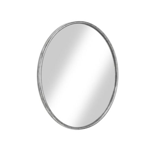 Round 30in Mirror - Antique Pewter