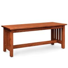 See Details - Mission Bench, 36'w x 13'd x 18'h