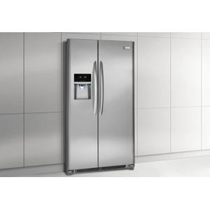 DISCONTINUED MODEL IN BOX Frigidaire Gallery 22.2 Cu. Ft. Counter-Depth Side-by-Side Refrigerator