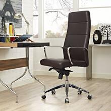 Stride Highback Office Chair in Brown