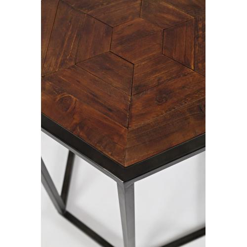Flatiron District End Table- Set of 2