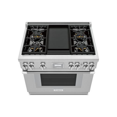 Gas Professional Range 36'' Pro Harmony® Standard Depth Stainless Steel PRG364WDH