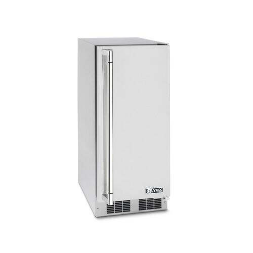 "Lynx 15"" Outdoor Ice Machine, Right Hinge"