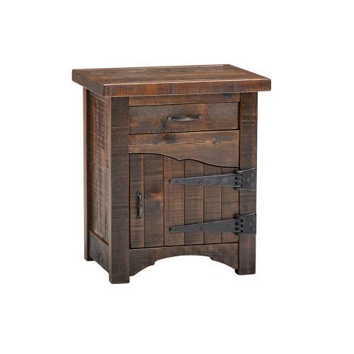 Woodland Park 1 Door 1 Drawer Nightstand - Hinged Right