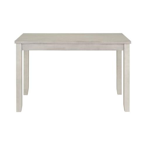 Standard Furniture - Sandpiper Small White Dining Table