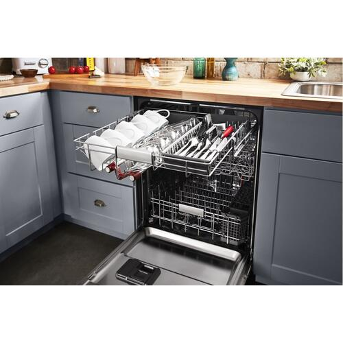 44 dBA Dishwasher with FreeFlex™ Third Rack and LED Interior Lighting - Stainless Steel with PrintShield™ Finish