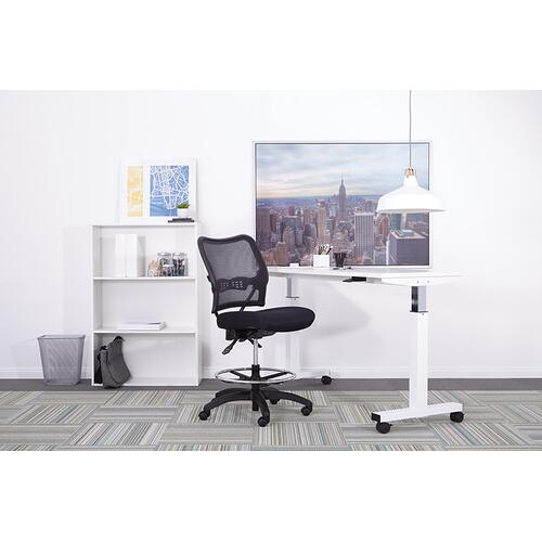 Office Star - Deluxe Ergonomic Airgrid Back Drafting Chair