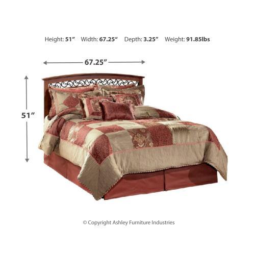 Timberline Queen Panel Bed