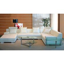 Divani Casa 3334 - Modern Bonded Leather Sectional Sofa