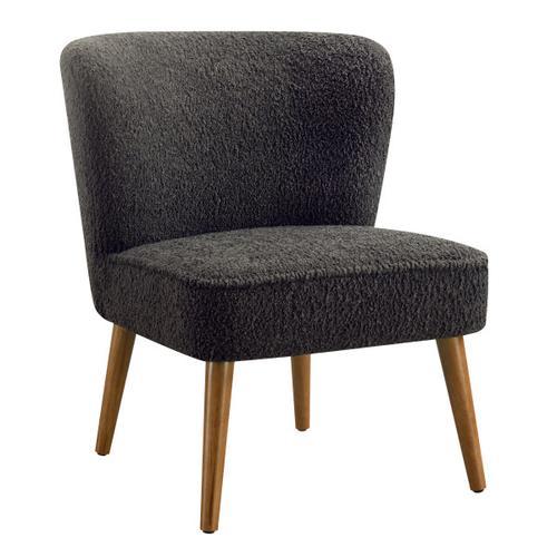 Armless Chair - Charcoal