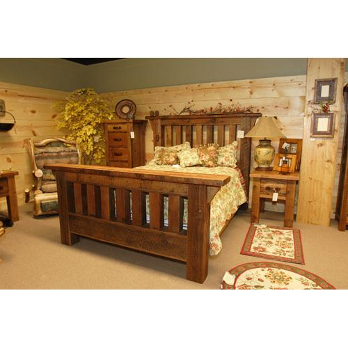 Stony Brooke - Royal Timber Bed - 7440 - Queen Bed (complete)