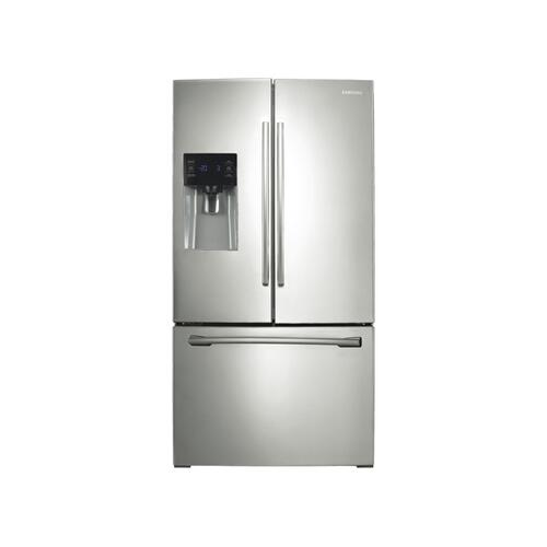 Samsung - 25 cu. ft. French Door with External Water & Ice Dispenser