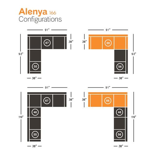 Alenya Left-arm Facing Sofa