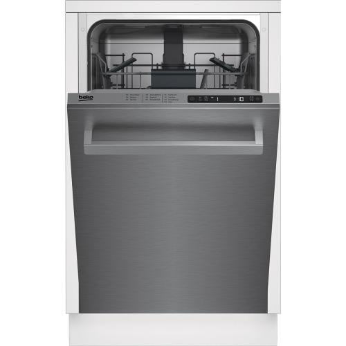 "18"" Top Control, Front Handle Dishwasher, 5 Programs, 48 dBA"