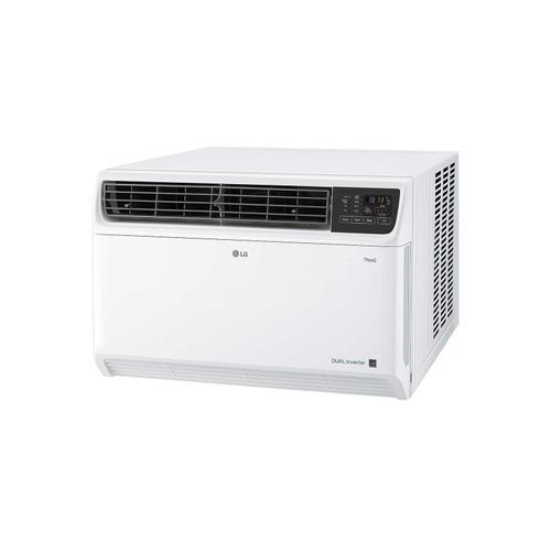LG - 18,000 BTU DUAL Inverter Smart wi-fi Enabled Window Air Conditioner