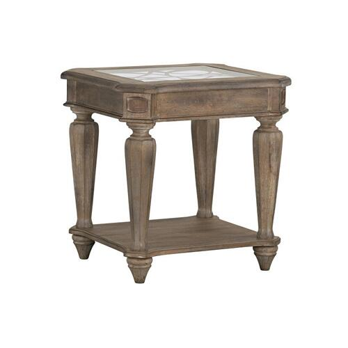 Richmond II End Table, Brown