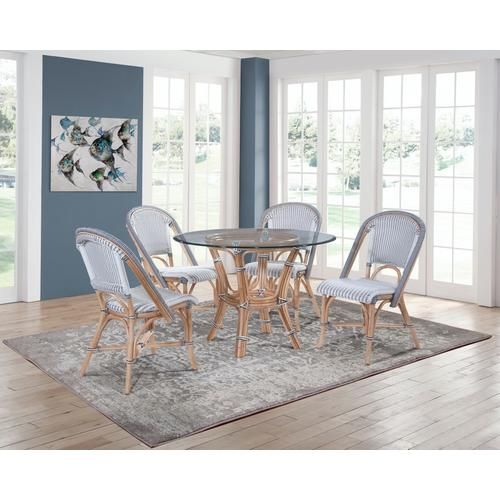 "Pier Point 36"" Round Dining Table"