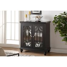 ENZO 2 DOOR CHEST-ANTIQUE GRAY