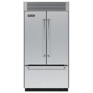 "Viking - 42"" French-Door Bottom-Freezer Refrigerator"