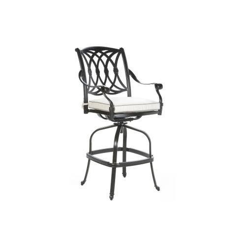 Alfresco Home - Lisbon Bar Swivel Arm Chair