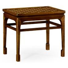 Leyburn Natural Acacia & Polka Dot Mini Table