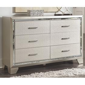 Lonnix Dresser Silver Finish