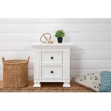 Classic Nightstand In Warm White
