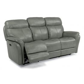 Zoey Power Reclining Sofa with Power Headrests