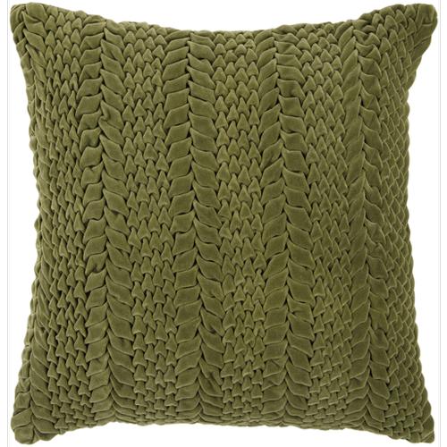 "Velvet Luxe P-0278 22"" x 22"" Pillow Shell with Down Insert"