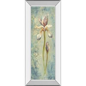 """Floral XI"" By Lee Hazel Mirror Framed Print Wall Art"