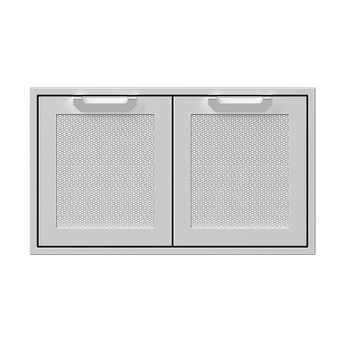 "36"" Hestan Outdoor Double Access Doors - AGAD Series - Pacific-fog"
