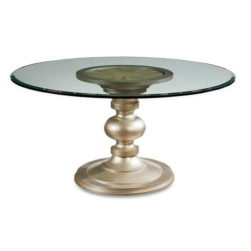Morrissey Wallen Round Dining Table 54inches Glass Top