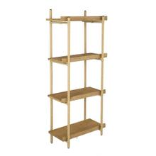 See Details - Four Tiers Shelf,Natural