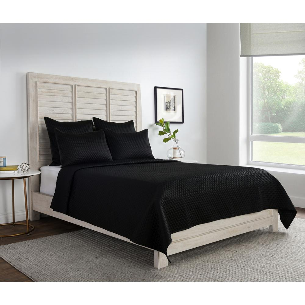 See Details - Diamond Onyx Queen Quilt