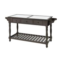 Northrup Kitchen Island In Brown-grey