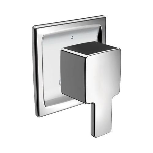 90 Degree chrome transfer tub/shower