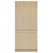 "Integrated Refrigerator Freezer, 36"", Ice"