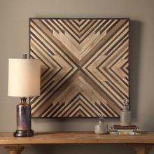 See Details - Floyd Wood Wall Decor