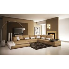 Divani Casa 5029 Modern Bonded Leather Sectional Sofa