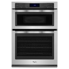 Whirlpool® 6.4 cu. ft. Combination Wall Oven with True Convection Microwave - Stainless Steel