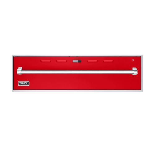 """Racing Red 36"""" Professional Warming Drawer - VEWD (36"""" wide)"""